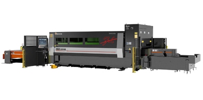 fiber laser with rotary index