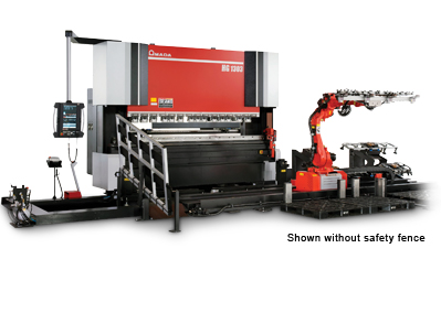 HG 2204 ATC Press brake with Automatic Tool Changer